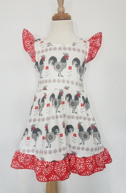 Rooster Dress