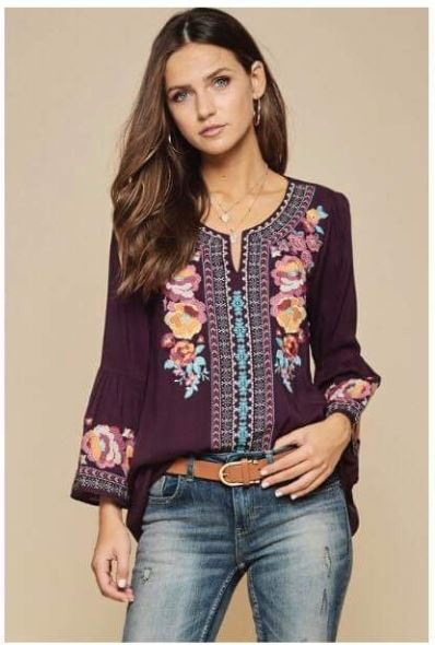 Janet Embroidered Tunic