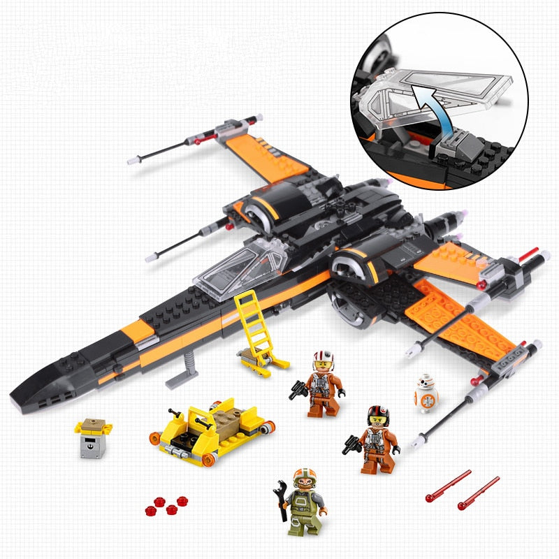 Star War First Order Poe's X-Wing Fighter Baustein Set kaufen