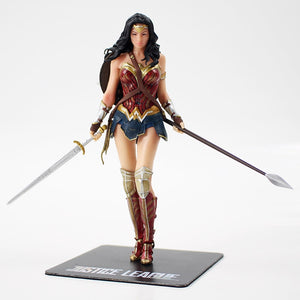 18cm Justice League The Flash Batman Superman Wonder Woman Statue Figuren kaufen
