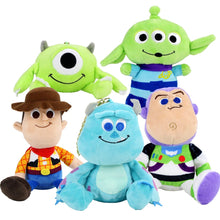 Laden Sie das Bild in den Galerie-Viewer, Toy Story Kuscheltiere Plüschtiere - Woody Alien Buzz Lightyear Hamm the Pig Sulley Mike Wazowski kaufen