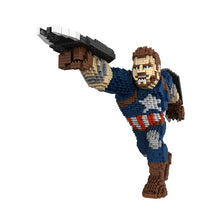 Laden Sie das Bild in den Galerie-Viewer, Marvel Avengers Captain America Baustein Figur kaufen