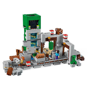 Creepered Mine Minecraft Baustein Set 852 Teile kaufen