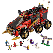 Laden Sie das Bild in den Galerie-Viewer, Ninjago Mobile Ninja-Basis Baustein Set - 758 Teile kaufen