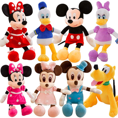 Mickey, Minnie Mouse, Donald Duck, Daisy etc. Plüsch Figuren (ca. 30cm) kaufen