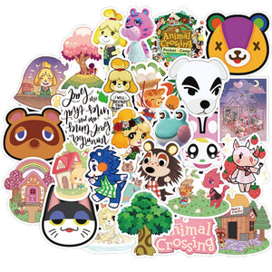 50 Stk. Animal Crossing Sticker - Aufkleber kaufen