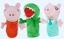 Laden Sie das Bild in den Galerie-Viewer, Peppa Wutz George Pig Hand Puppen Set (5 Fingerpuppen) kaufen