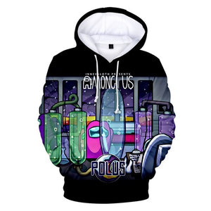 Full Color Among Us Hoodies Streatwear kaufen