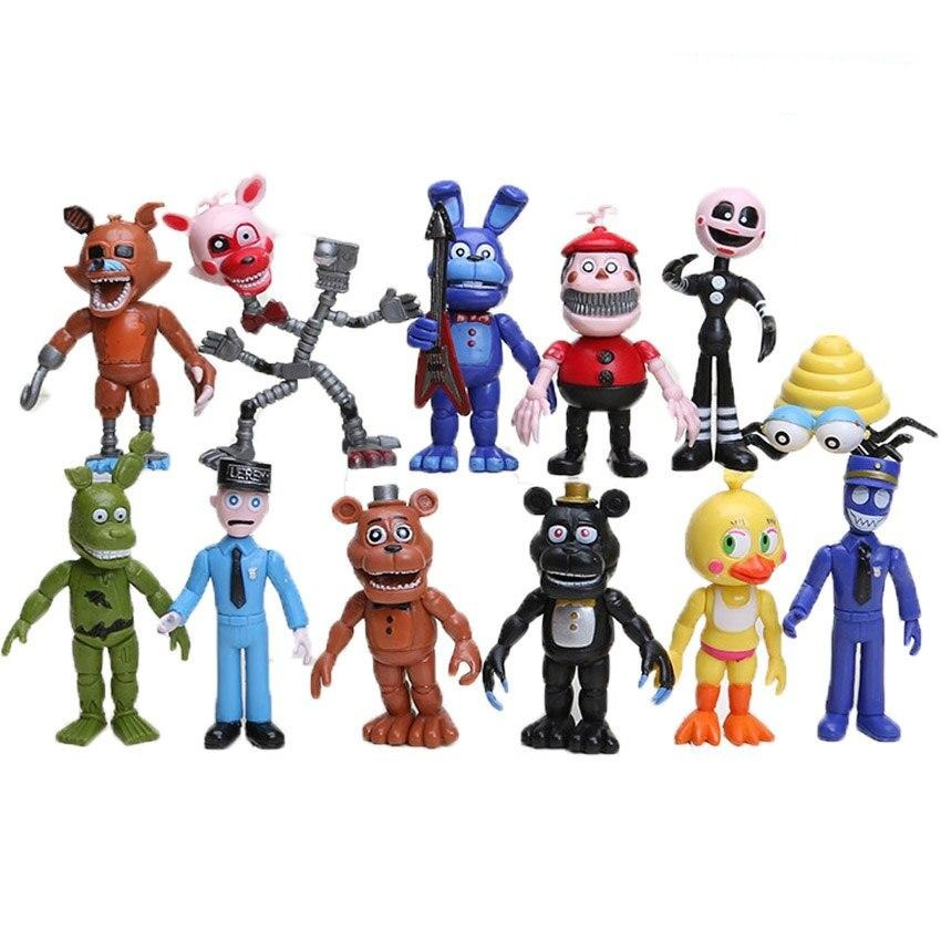 Five Nights At Freddy's Action Figuren Set (12 Figuren) kaufen