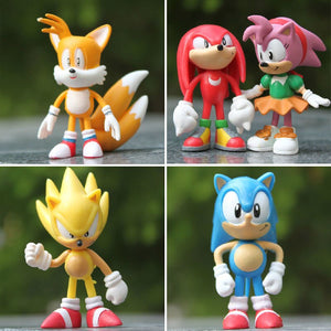 Sonic the Hedgehog, Sonic der Igel Figuren Set mit 6x Sonic kaufen