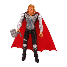 Laden Sie das Bild in den Galerie-Viewer, 6 Stk. Superhelden Action Figuren Set (Thor, Superman, Batman, Hulk etc.) kaufen