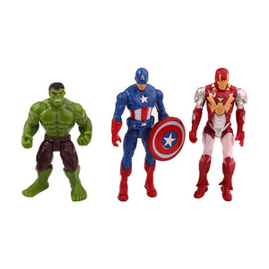 6 Stk. Superhelden Action Figuren Set (Thor, Superman, Batman, Hulk etc.) kaufen