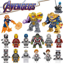 Laden Sie das Bild in den Galerie-Viewer, Thanos, Captain Marvel - Avengers 4 Endgame Figuren (34 Motive) kaufen