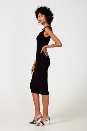 Kwait Black Dress - Etxart & Panno USA
