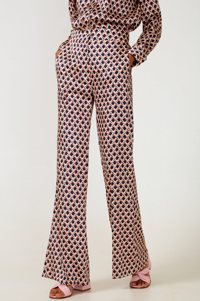 Geometric trousers - Etxart & Panno USA