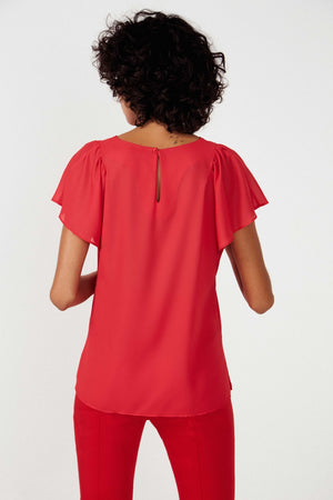 Bianca Red Top - Etxart & Panno USA