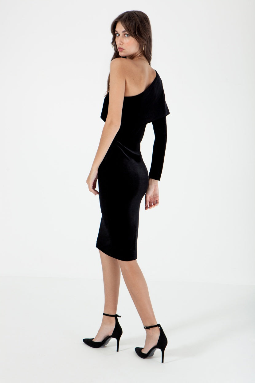 Pio Black Dress - Etxart & Panno USA