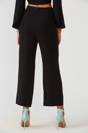Surf black trousers - Etxart & Panno USA