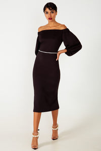 Lennon B Black Dress - Etxart & Panno USA