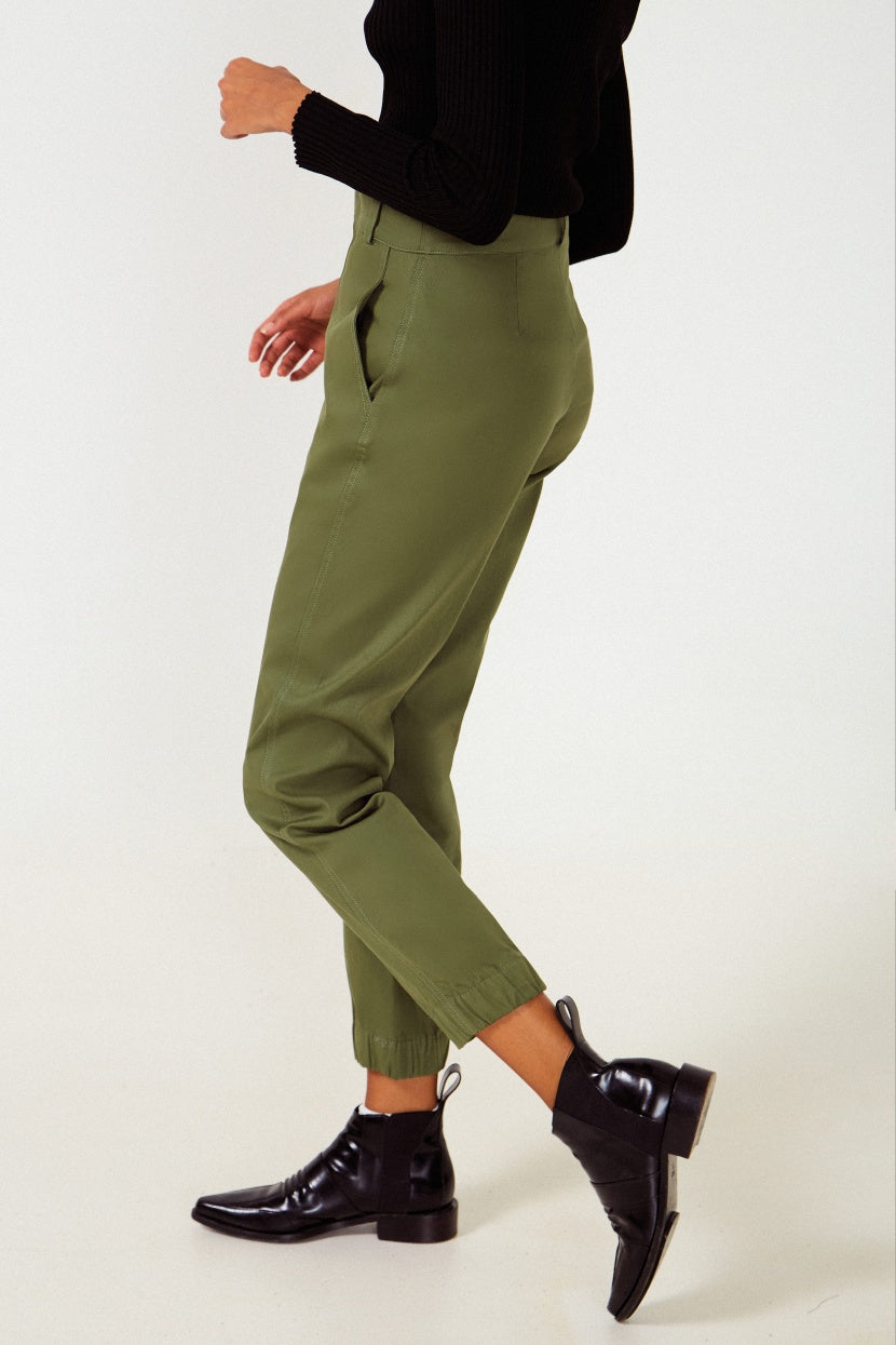 Safari Kaki Trousers - Etxart & Panno USA