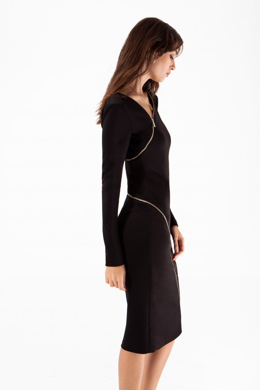 Zipper Dress - Etxart & Panno USA