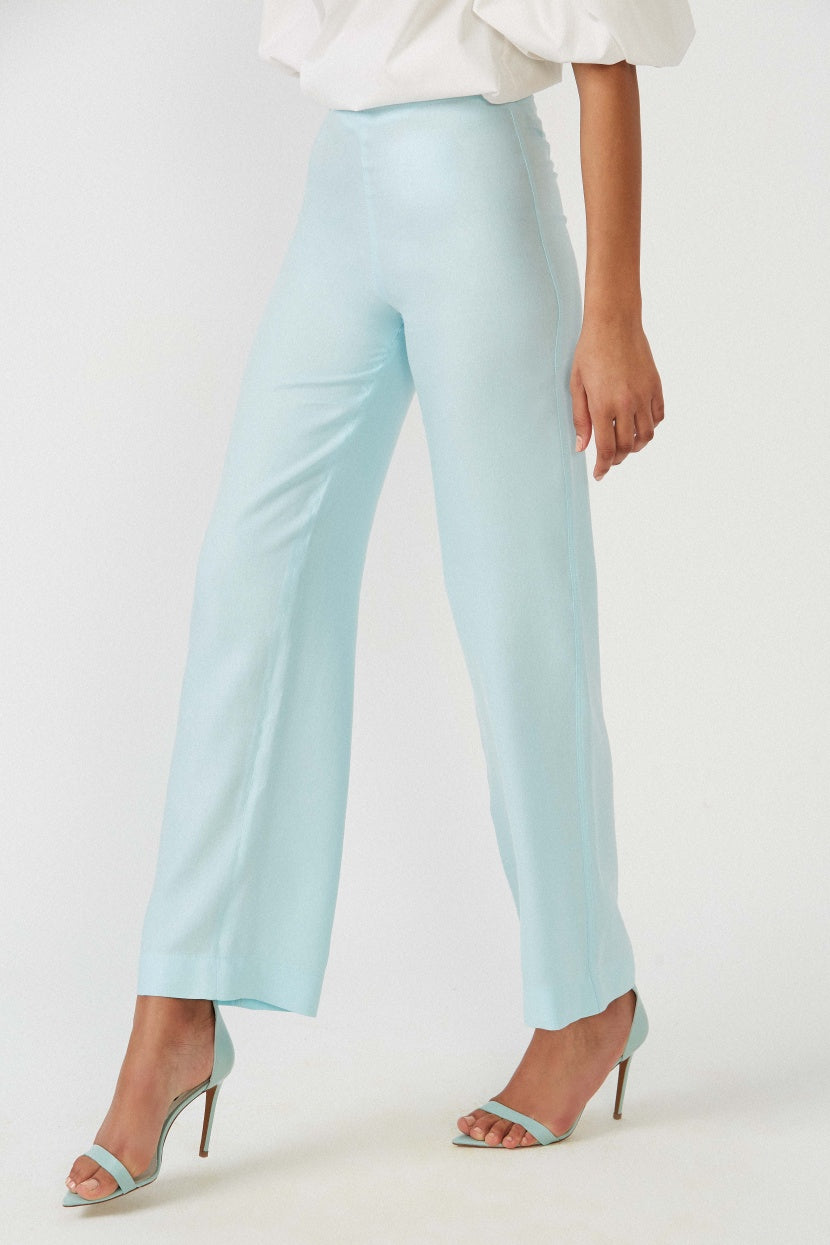 Surf bis blue trousers - Etxart & Panno USA
