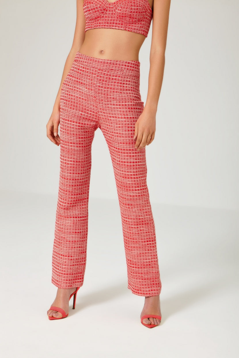 Jambo Red Trousers - Etxart & Panno USA