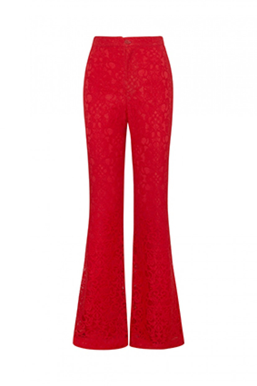 Candy Trouser red - Etxart & Panno USA