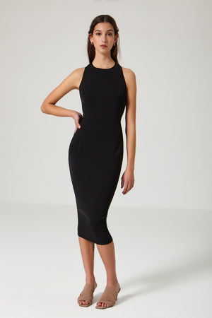 Sunset Dress black - Etxart & Panno USA