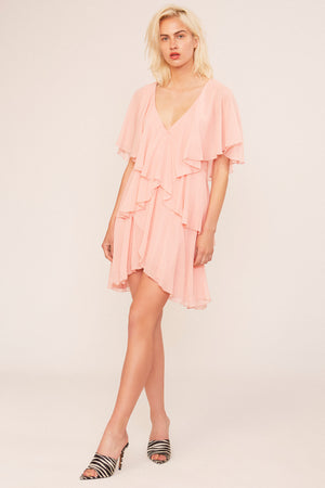 Fly Pale Pink Dress - Etxart & Panno USA