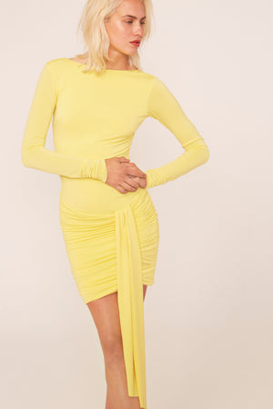 Goa Yellow dress - Etxart & Panno USA