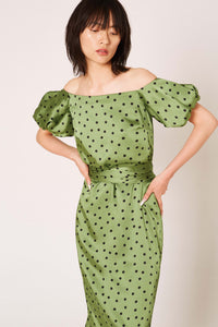 Femme Green Dress