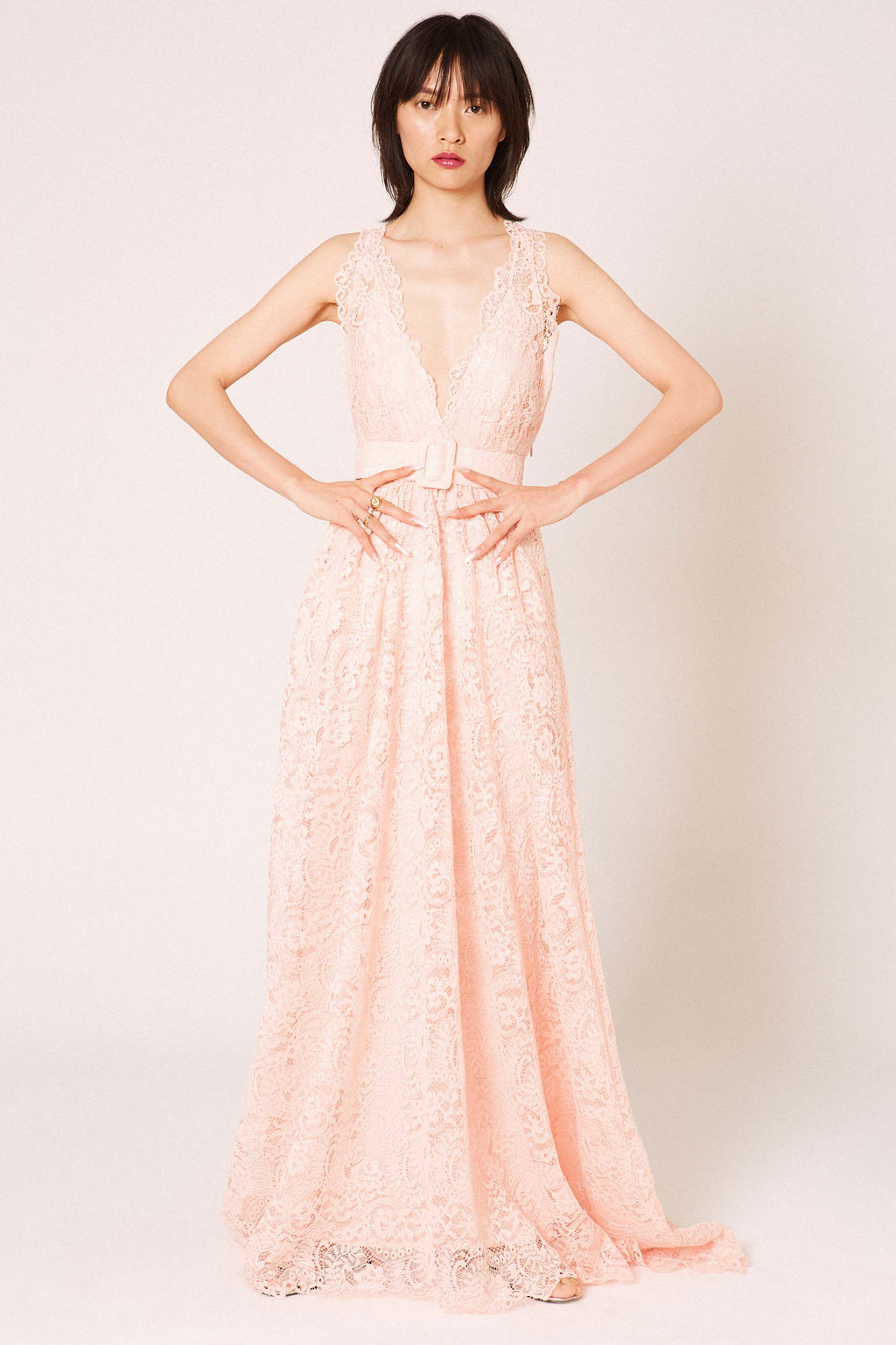 Amour Nude Dress - Etxart & Panno USA