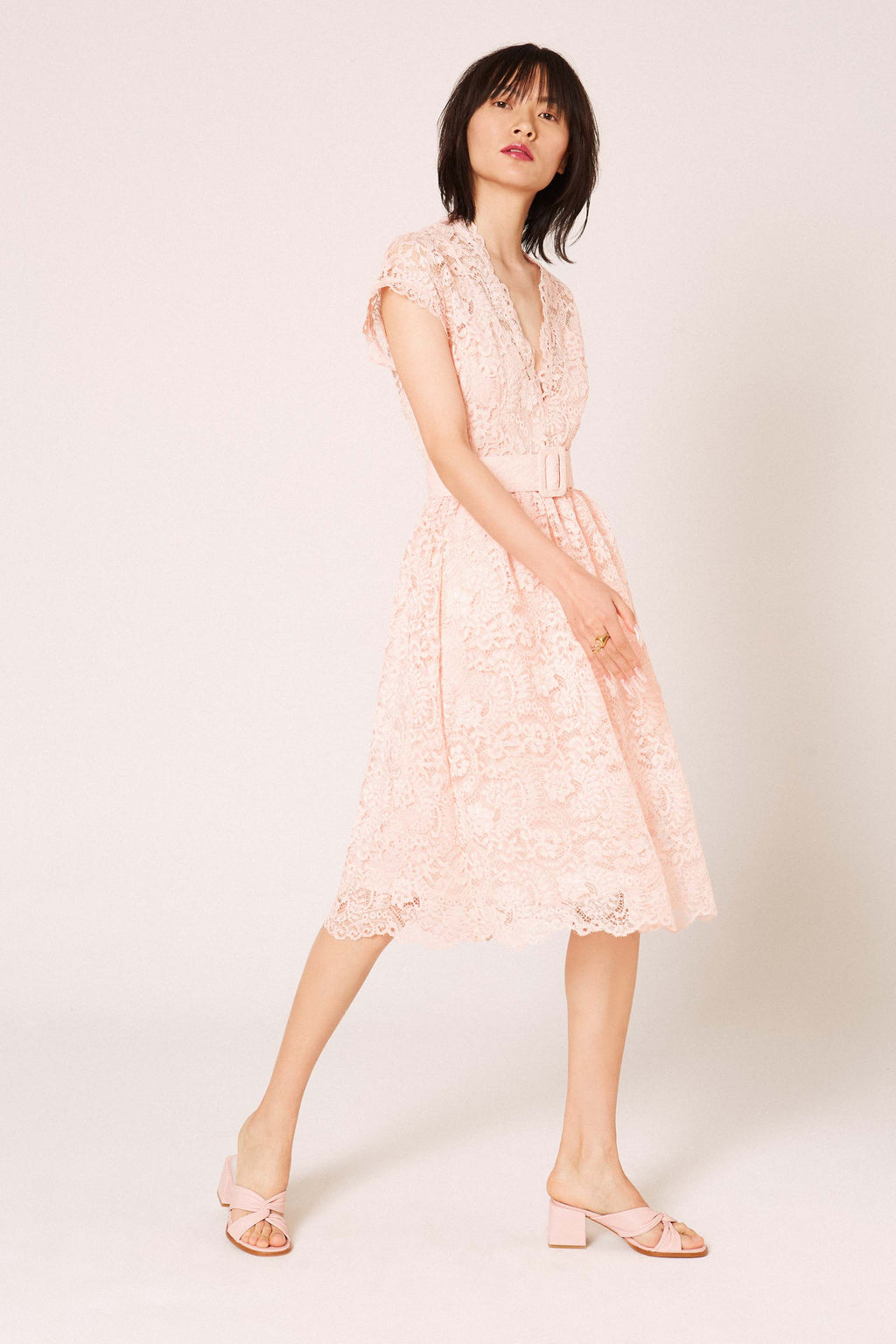 Amet Nude Dress - Etxart & Panno USA