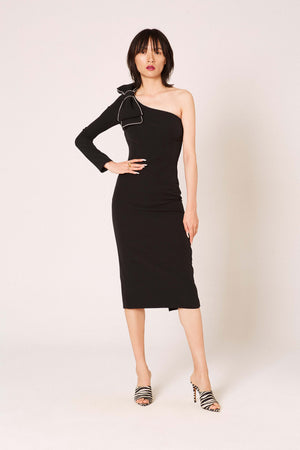 Okkinawa black dress - Etxart & Panno USA