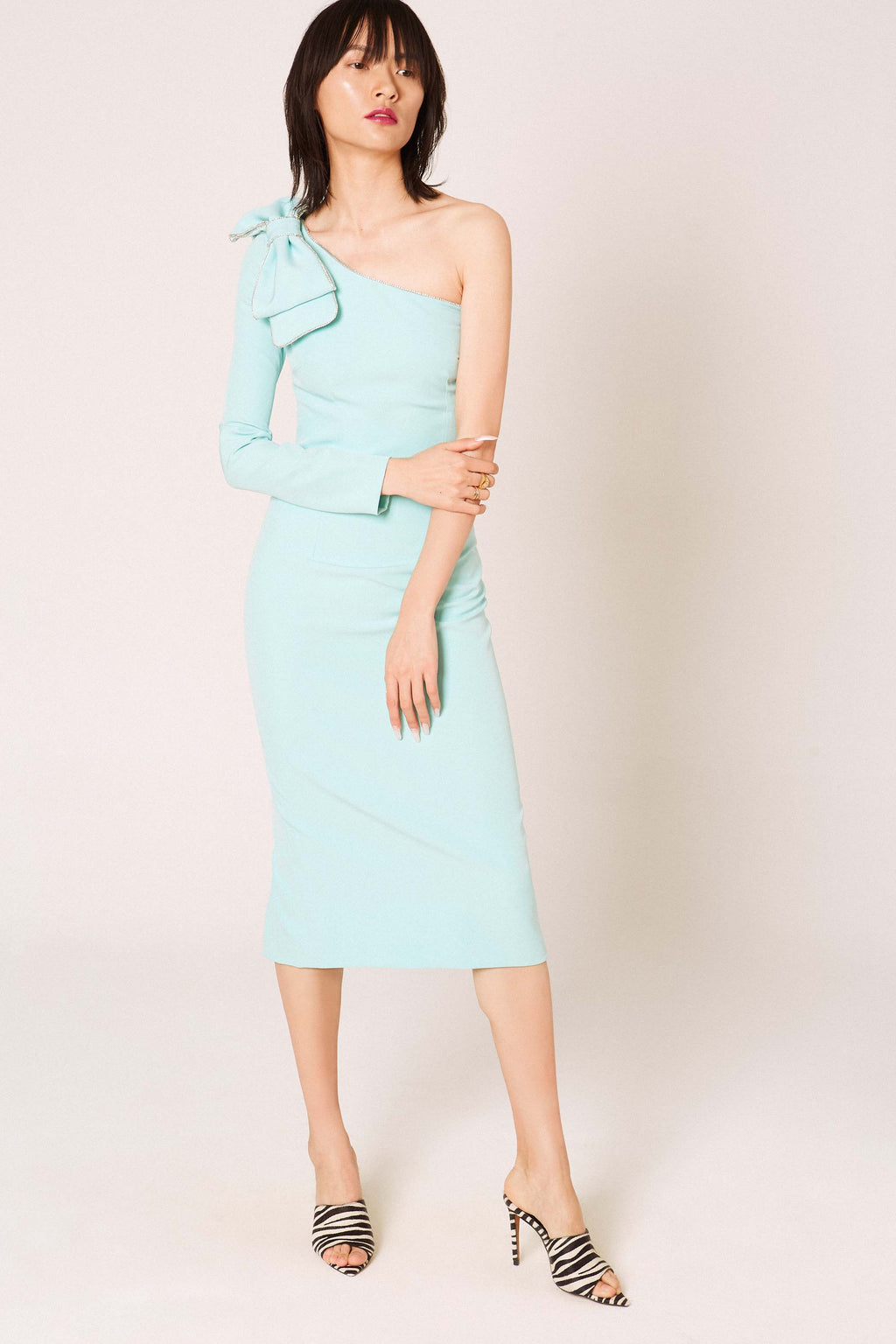 Okkinawa light blue dress - Etxart & Panno USA