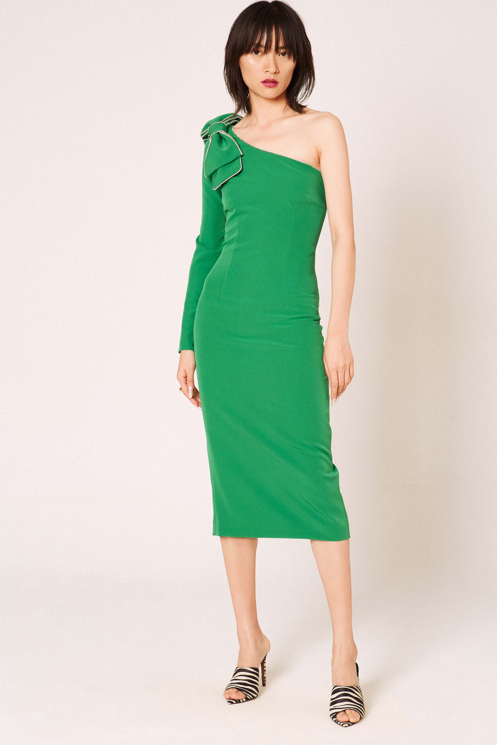 Okkinawa green dress - Etxart & Panno USA