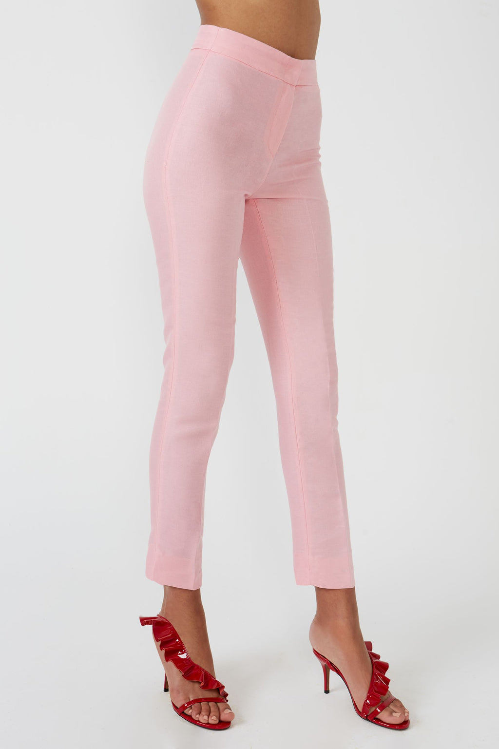 Jer pink trousers - Etxart & Panno USA