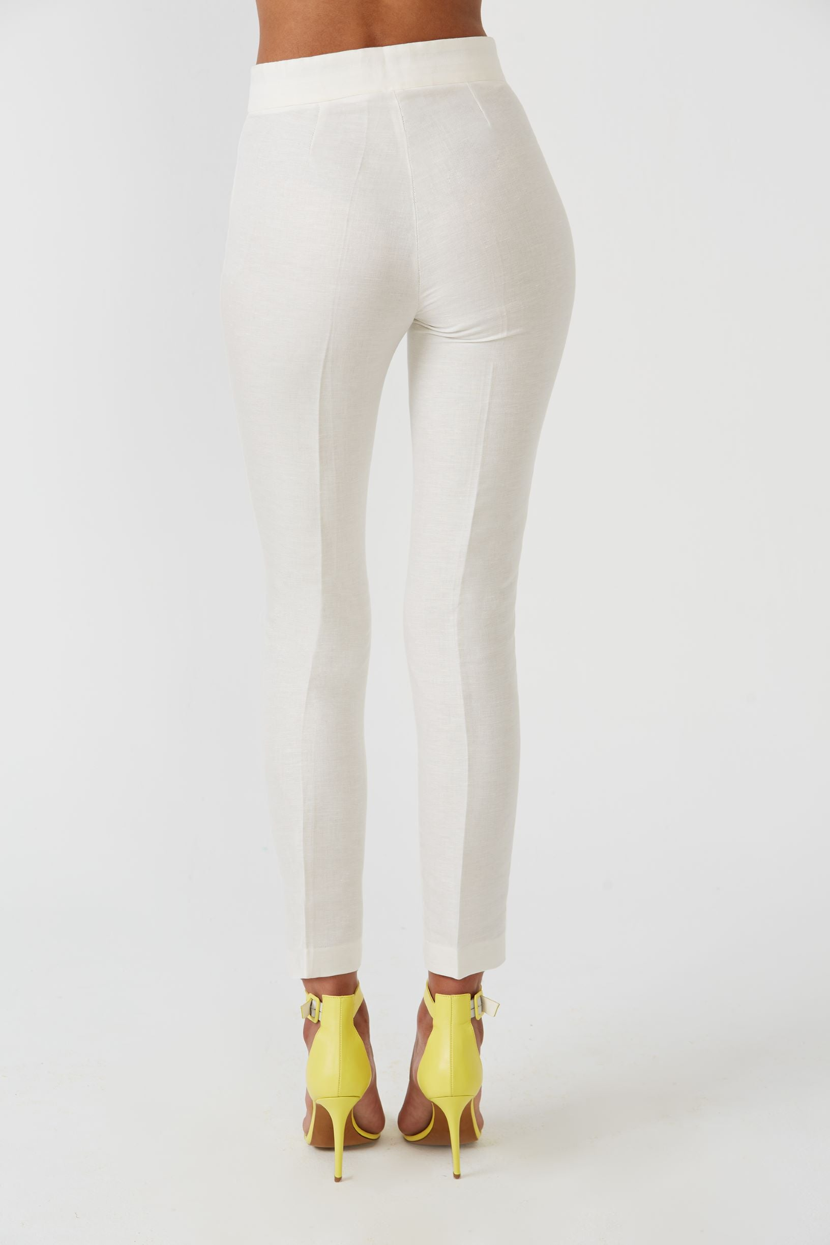 Jer white trousers - Etxart & Panno USA