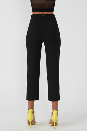 Oasis Black Trousers - Etxart & Panno USA
