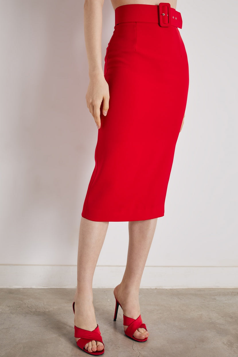 Nova red Skirt - Etxart & Panno USA