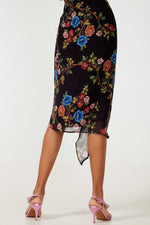 Reco black skirt - Etxart & Panno USA