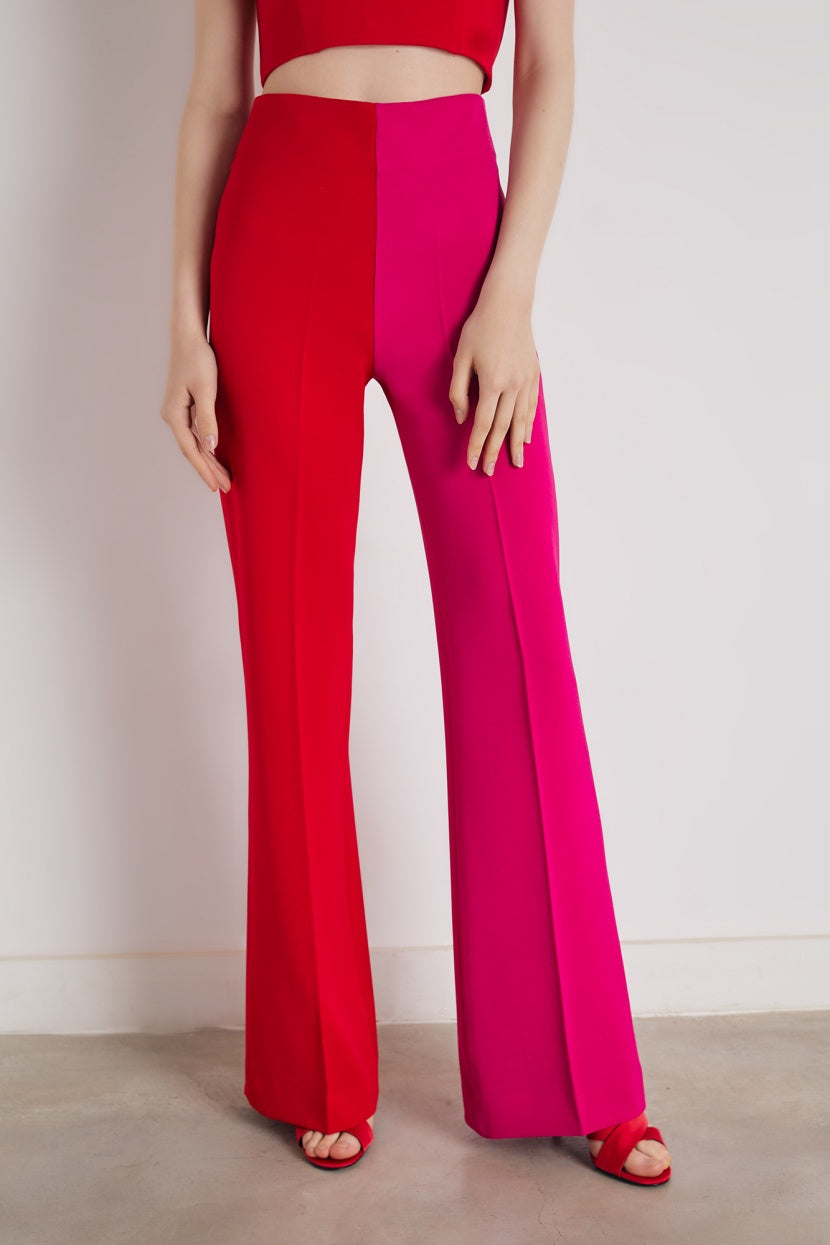 Bico red trousers - Etxart & Panno USA