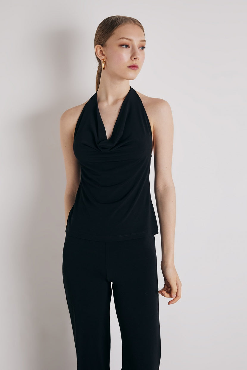 Perla Top black - Etxart & Panno USA