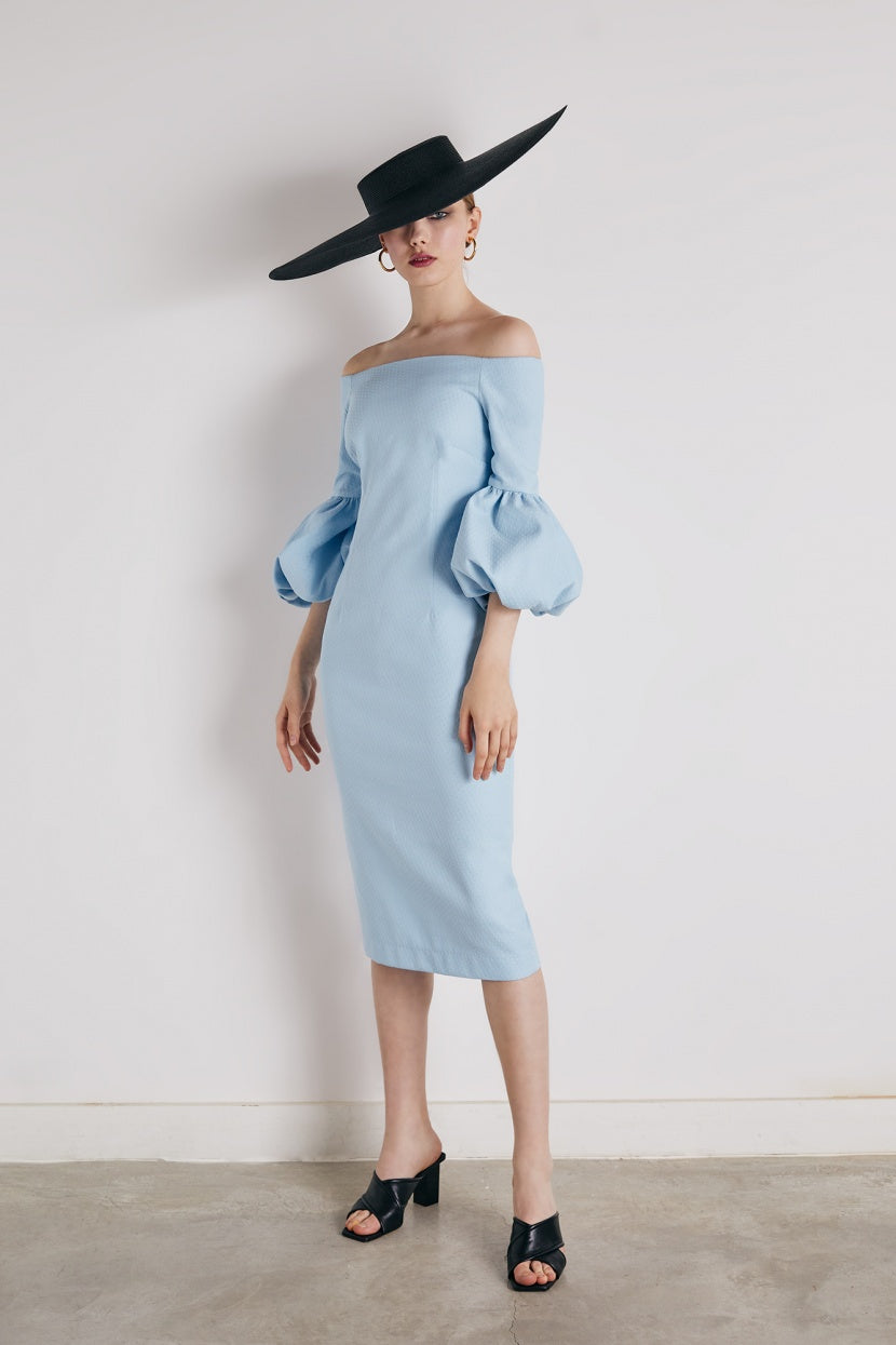 Ice cream blue dress - Etxart & Panno USA