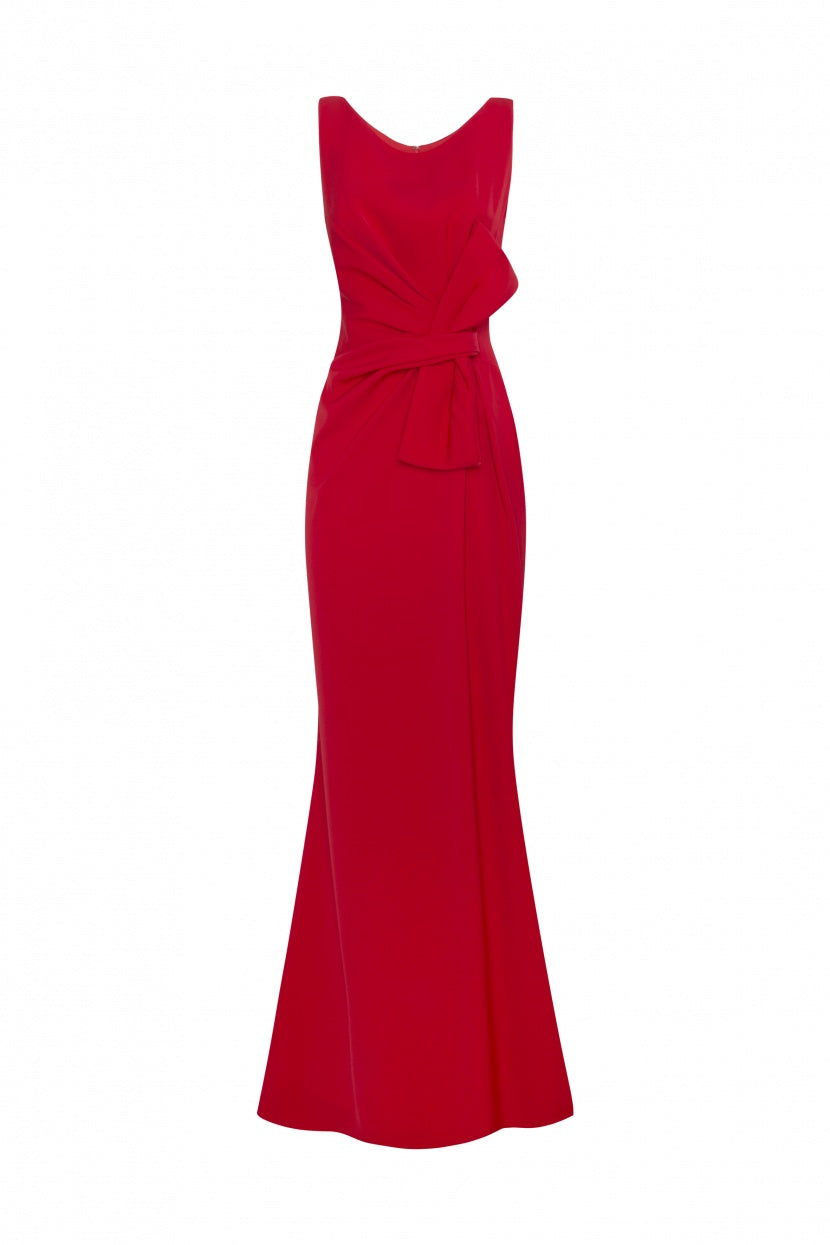 Lia Dress red - Etxart & Panno USA