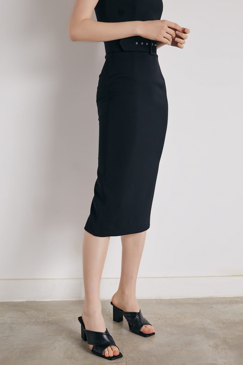 Nova black Skirt - Etxart & Panno USA