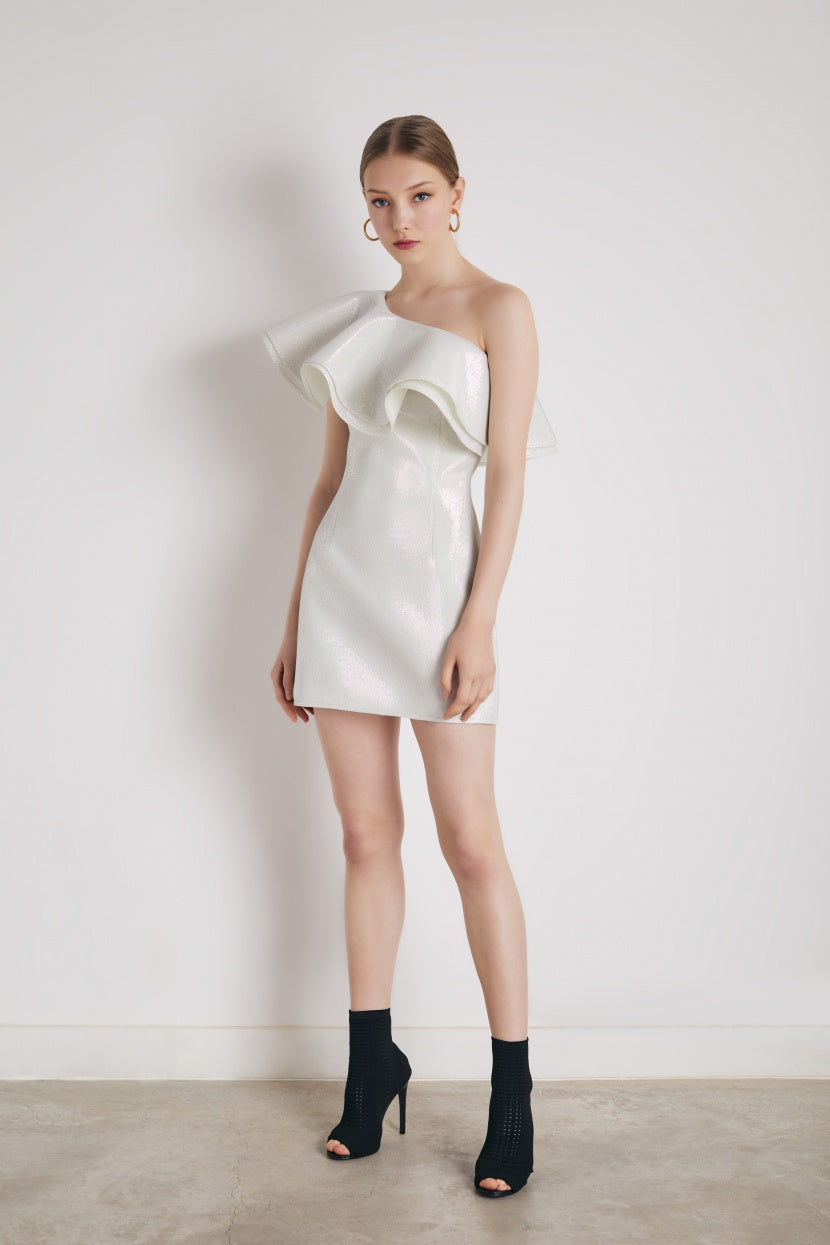 Granizado silver dress - Etxart & Panno USA