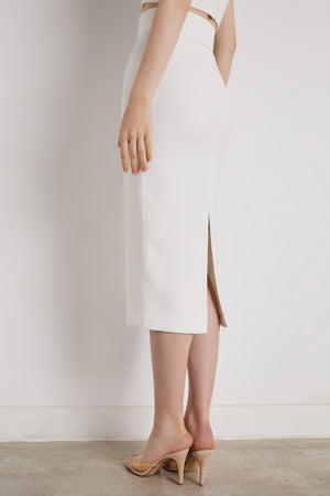 Nova white Skirt - Etxart & Panno USA