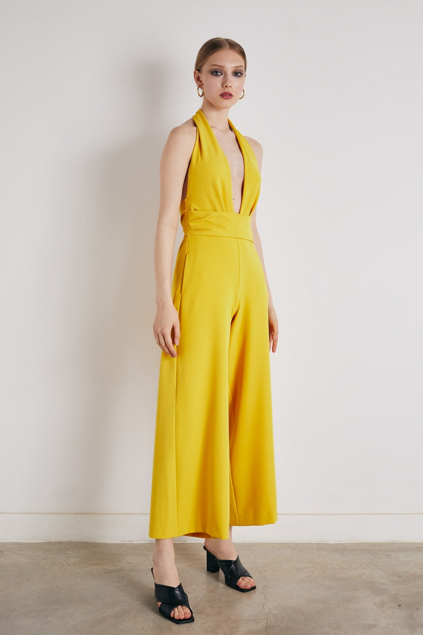 Sofel Jumpsuit Yellow - Etxart & Panno USA